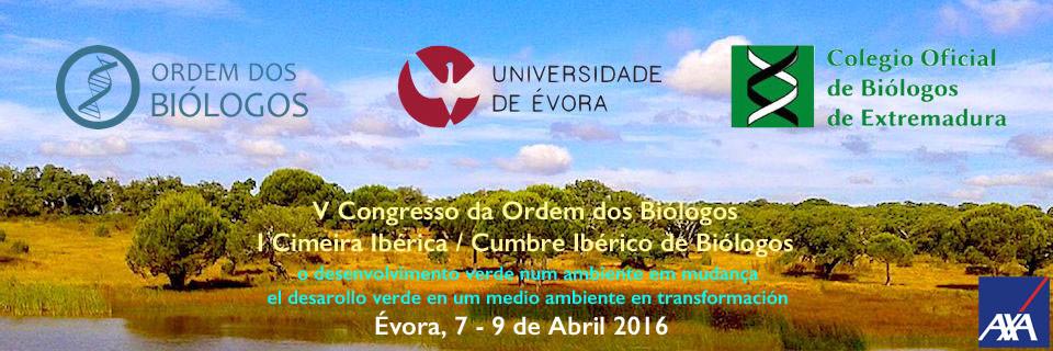 V Congresso Ordem dos Biólogos | I Cimeira Ibérica de Biólogos